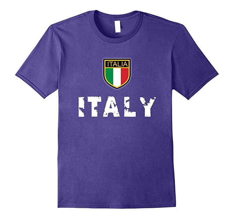 Italy Soccer Tshirt - Italian Souvenir T-Shirt-PL