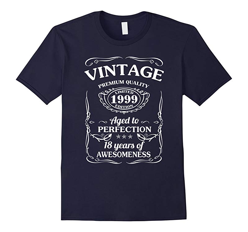 18 year old birthday gifts Vintage 1999 T-shirt-RT