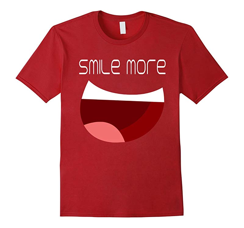 Smile more t shirt-RT