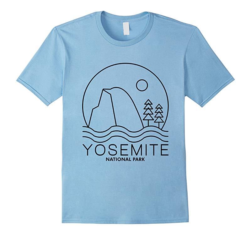 Yosemite National Park T shirts, Yosemite T shirts-Art