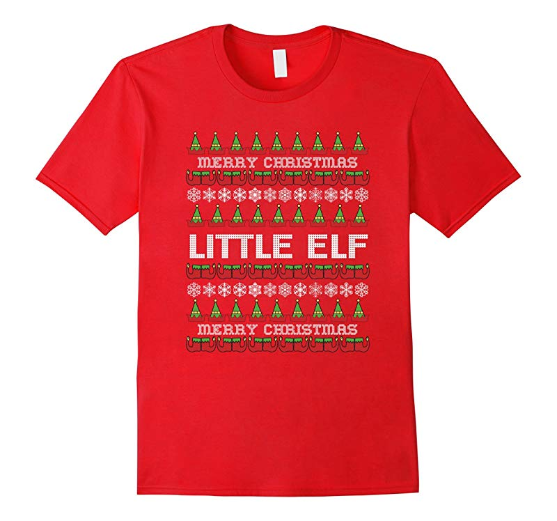 Christmas Family Shirt Set Little Child Elf T-Shirt Couples-RT