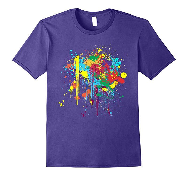 Pretty Dirty Paint Splatter T-shirt-RT