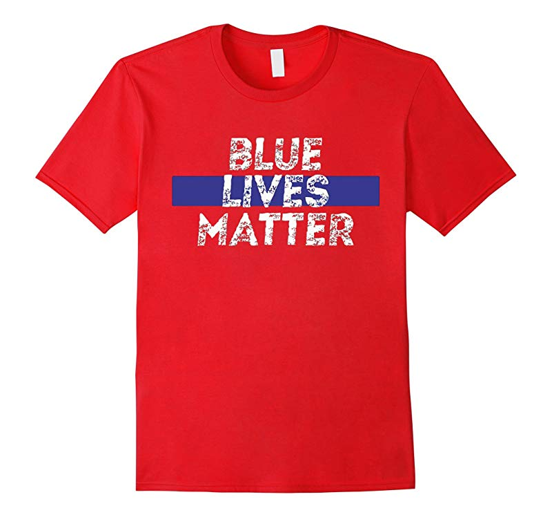 Thin Blue Line shirt Police shirtBLUE LIVES MATTER T-shirt-RT