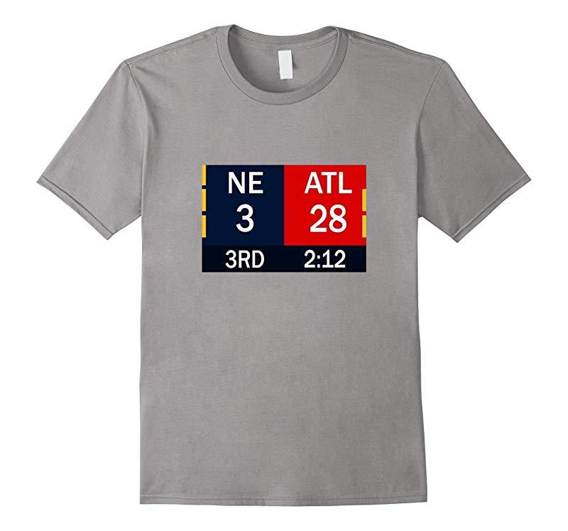 28-3 Big Game Comeback T Shirt - Atlanta 28 New England 3-CD