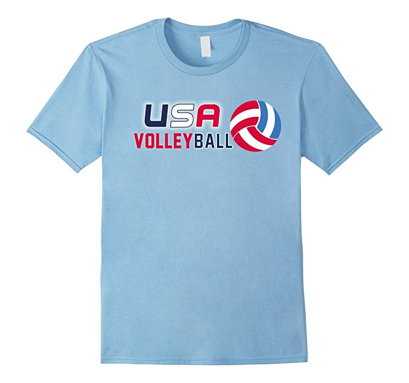USA Volleyball Shirt Mens and Womens Volleyball Sports-RT