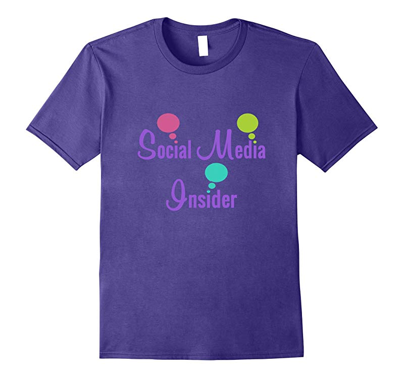 Social Media Insider Shirt Online Seller Blogger-RT