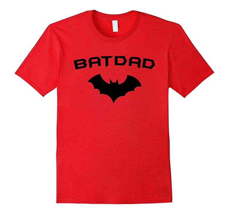 BATDAD - Proud Dad Father Super Dad Hero T Shirt-RT