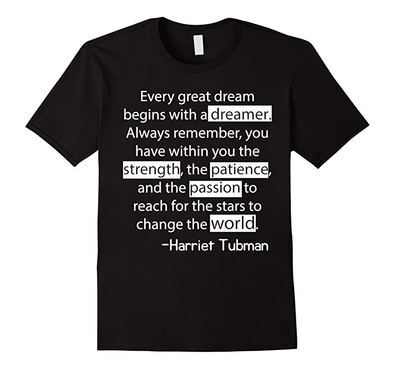 Civil Rights T-Shirt - We Out Harriet Tubman Black History T-RT