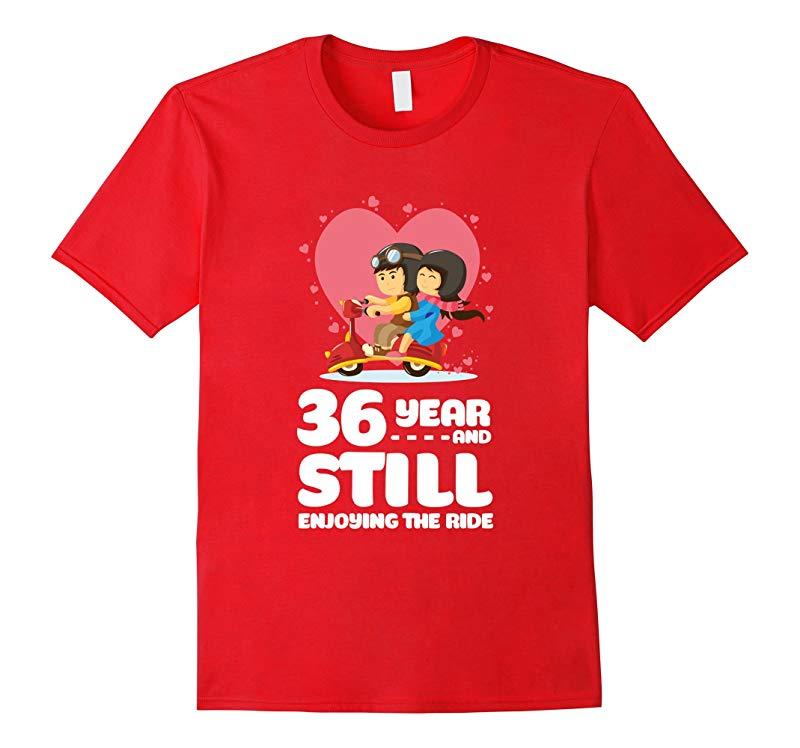 Cute T-Shirt for Wife/Husband. 36th Wedding Anniversary Gift-Art