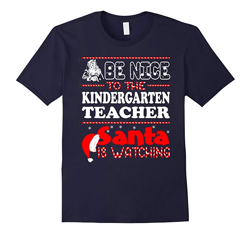 Kindergarten Teacher Santa T Shirt-RT