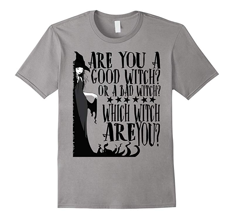 Good Witch Bad Witch T shirt Halloween Tee-RT
