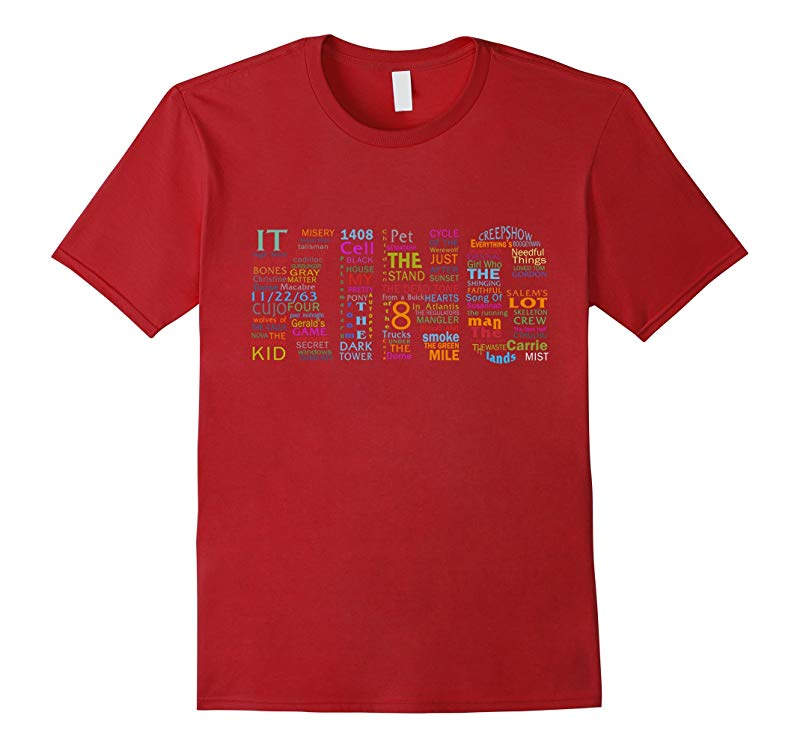 Author STEPHEN KING TShirt for real fans-BN