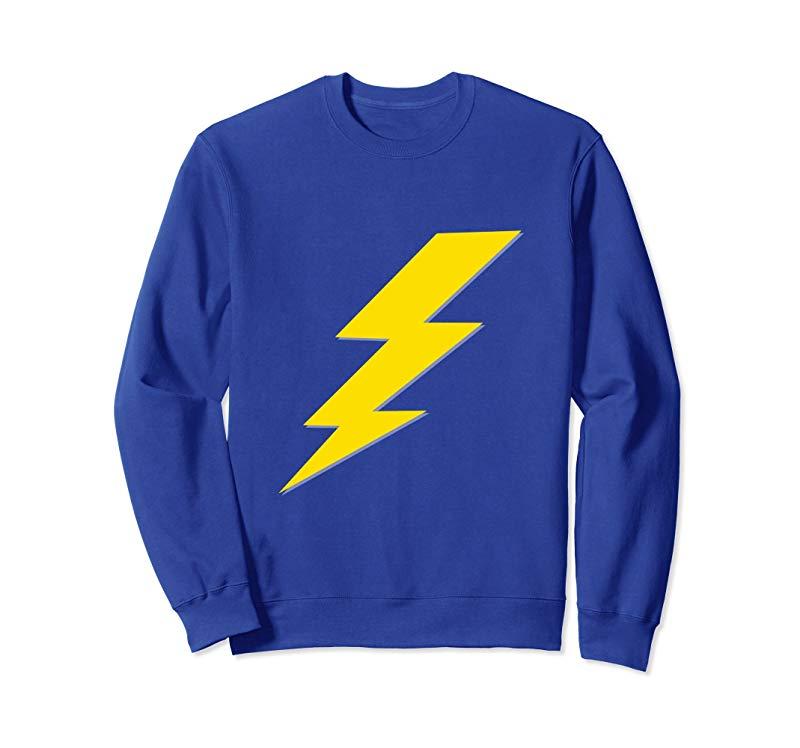 Yellow Lightning Bolt Sweatshirt-TH