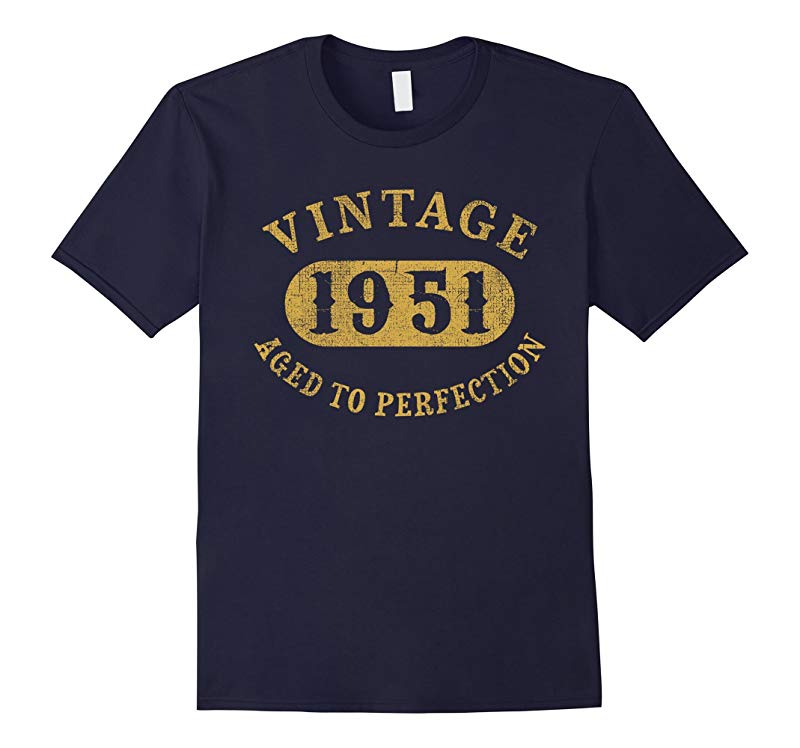 66 years old 66th Birthday B-day Gift Vintage 1951 T-Shirt-RT