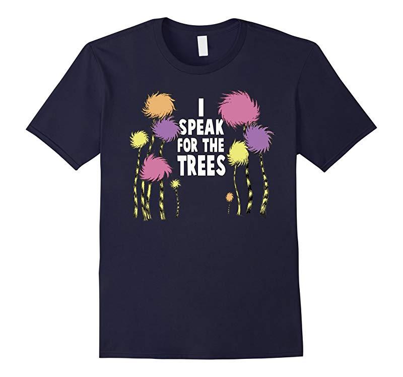 I Speak For The Trees Environmental Awareness Kids Shirt-RT