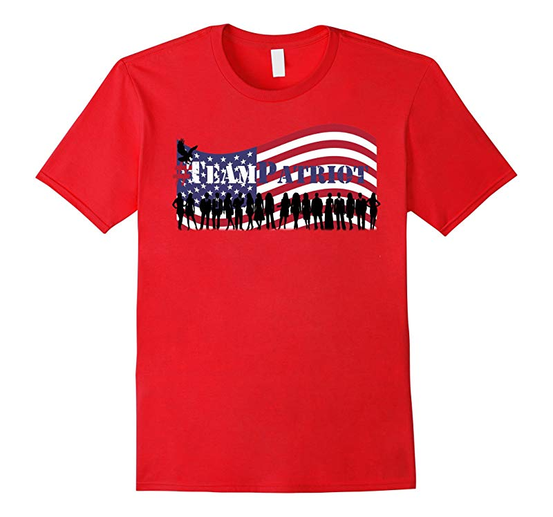 #TeamPatriot - Guardians of Democracy Patriotic T-shirt-RT