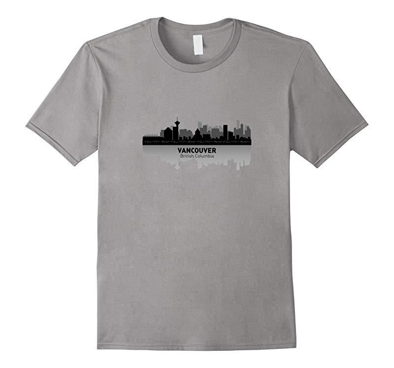 Vancouver Canada City Skyline  British Columbia T-shirt-RT