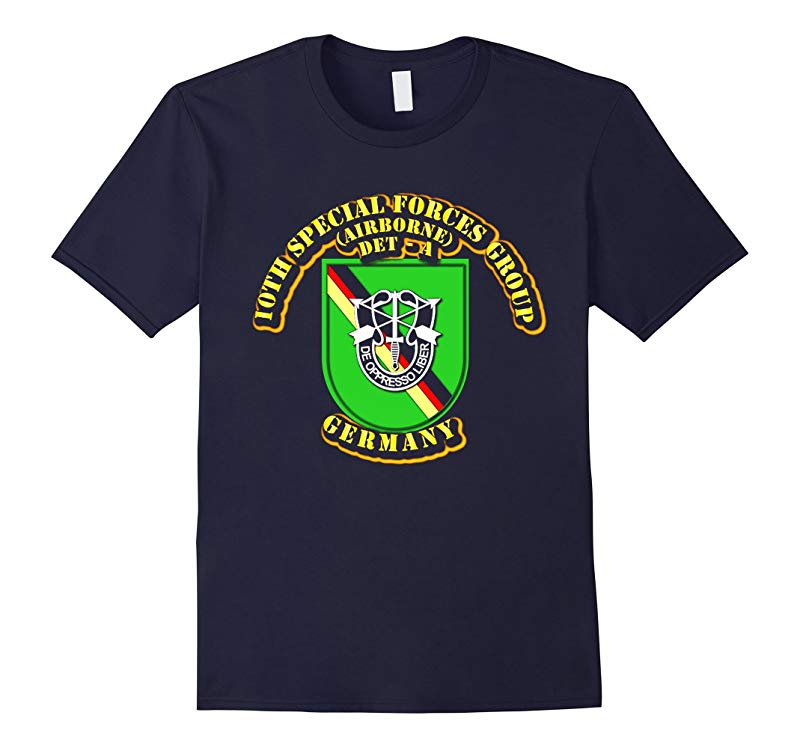 10th Special Forces Group - Det - A - Germany Tshirt-RT