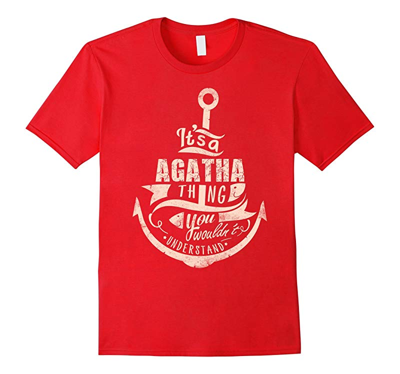 AGATHA T-shirt Nobody is perfect but if your name is AGATHA-RT