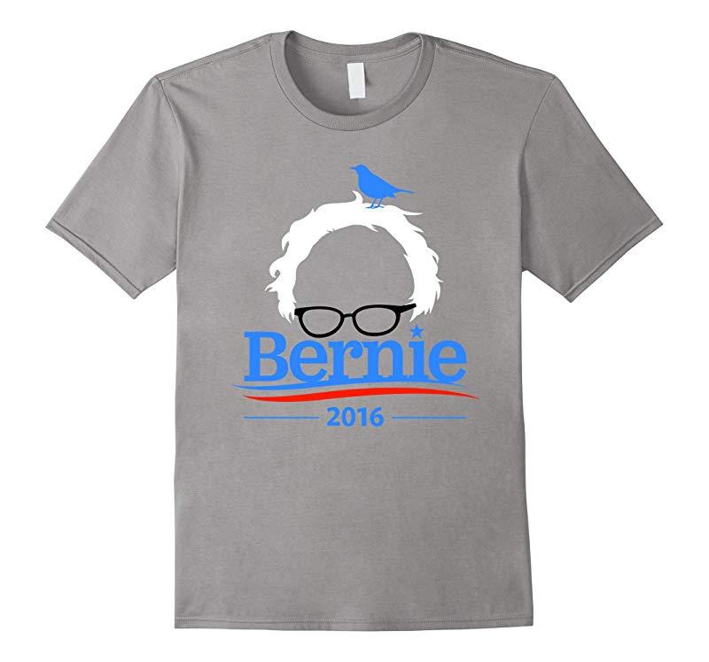 Bernie Bird Shirt - President 2016 Sanders Peace Bern Birdie-RT
