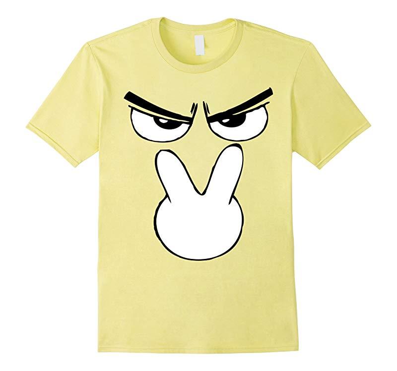 I'm Watching You Emoji Halloween Costume TShirt Unique Fun-T-Shirt