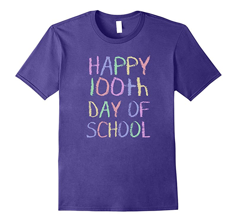 100 Days Of School Shirt - Happy 100th Day of School TShirt-RT