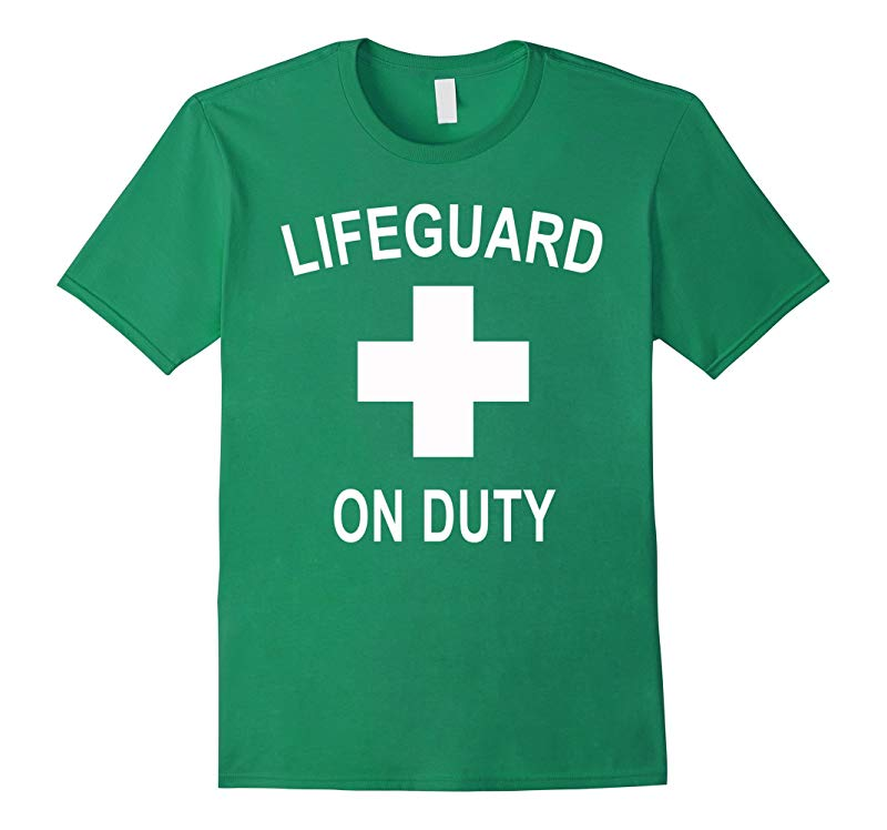 Certified Official Lifeguard T-Shirt Lifeguard On Duty-FL