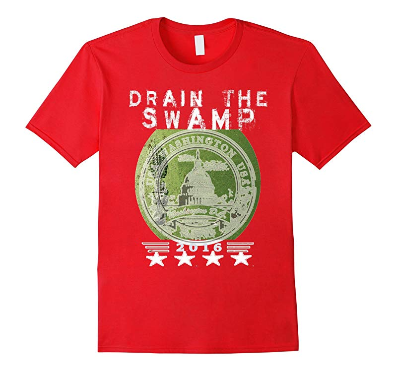 Drain the Swamp 2016 Pro Trump Election T-shirt-RT