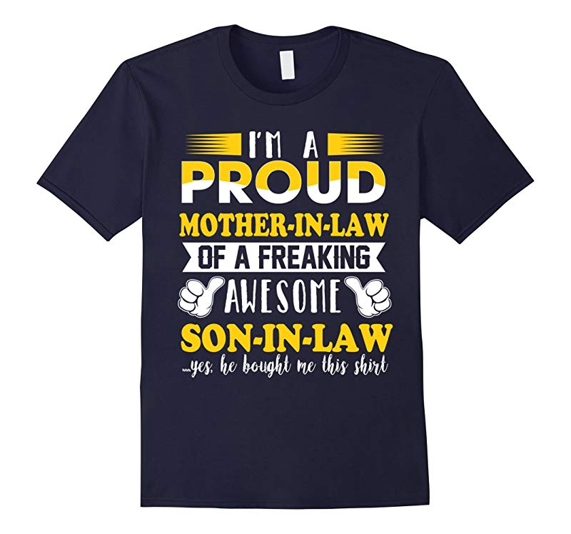 I am a proud mother in law T-Shirt-RT