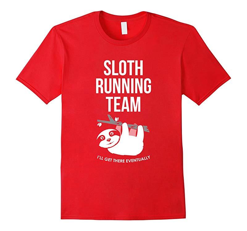 Sloth Running Team T-Shirt-RT