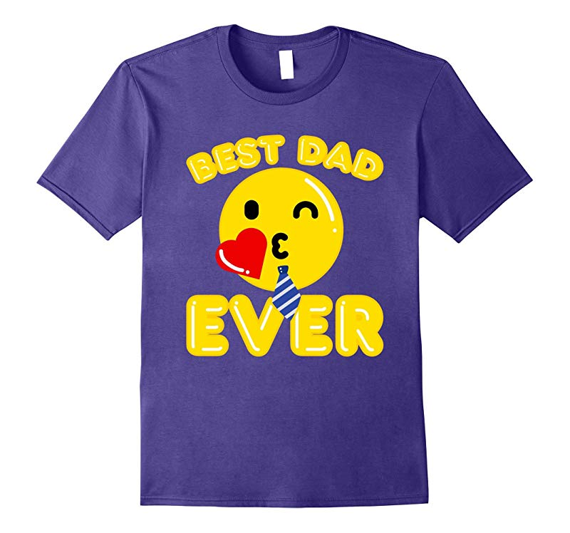 Best Emoji Family T Shirts Gifts For Father Best Dad Ever T-RT