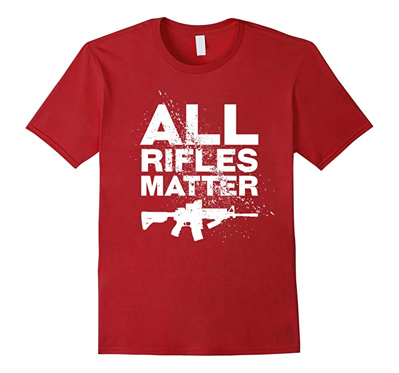 ALL RIFLES MATTER - MENS T-SHIRT-RT