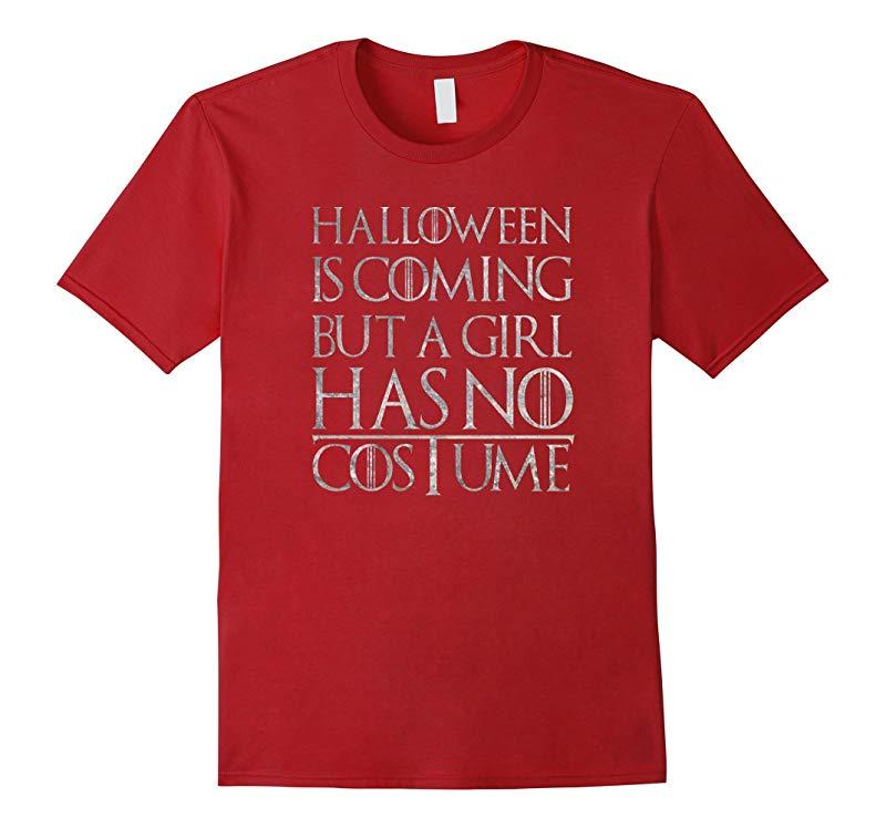 A girl has no costume shirt-RT