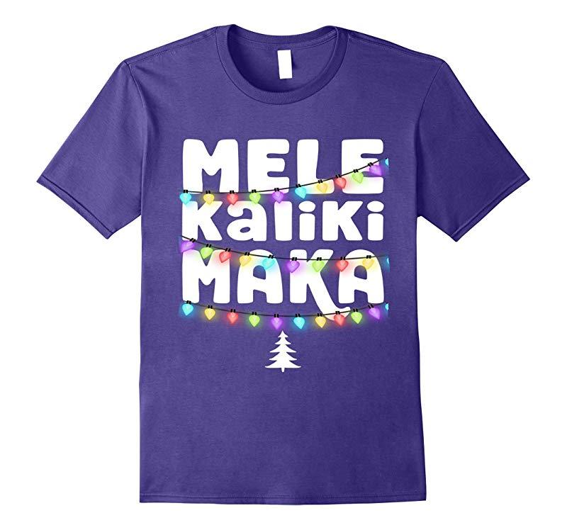 Hawaiian Christmas TShirt: Mele Kalikimaka Tee-ANZ