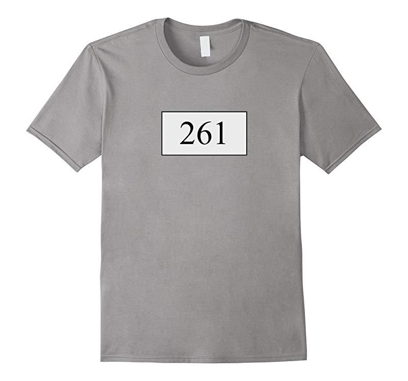 261 Marathon Number T-Shirt running gifts-RT