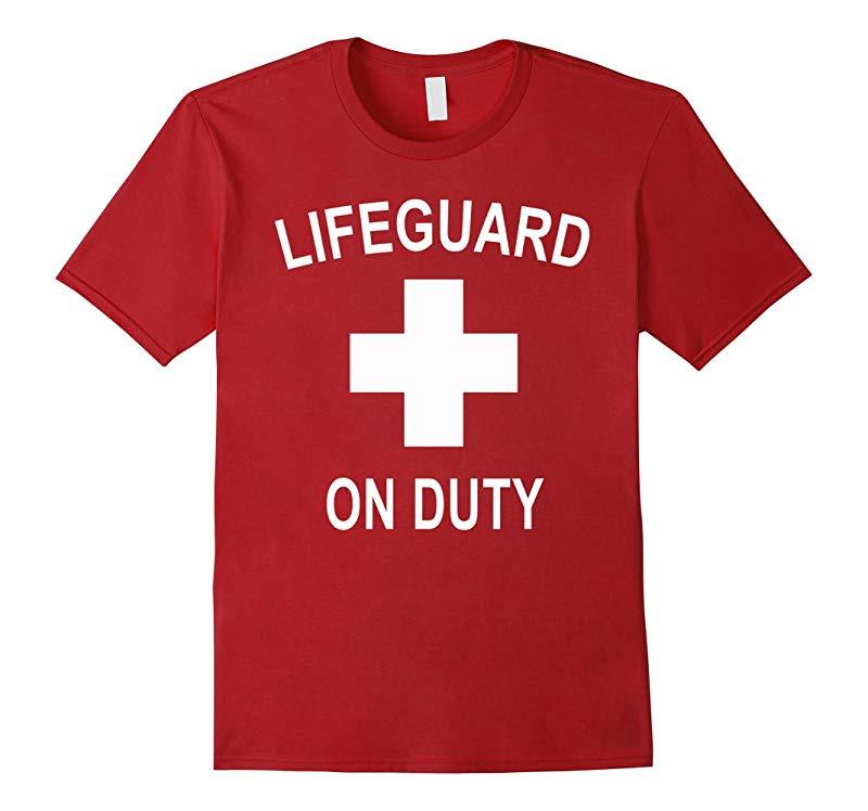 Certified Official Lifeguard T-Shirt Lifeguard On Duty-FL
