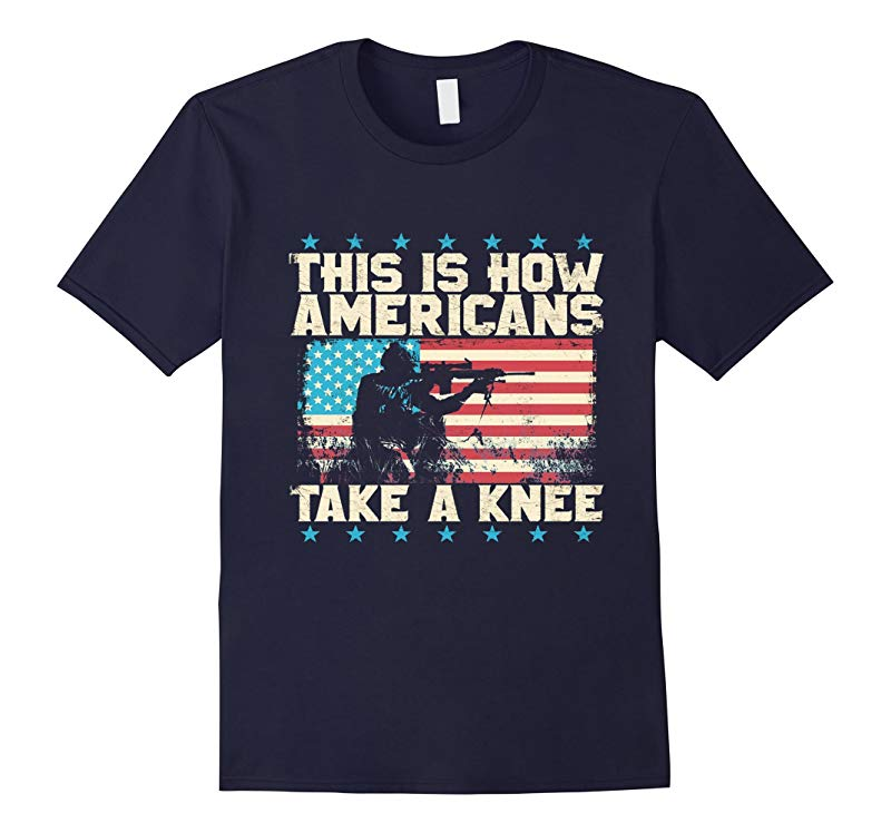 This is How Americans-Take a Knee-Boycott the-NFL-Tshirt-T-Shirt