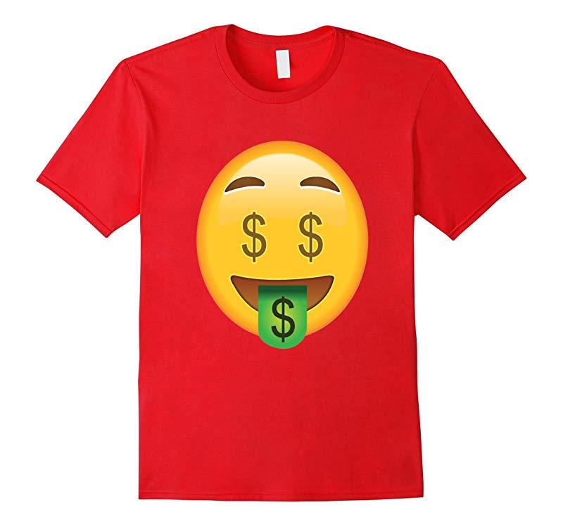 Emoji T-Shirt Money Face Tee tshirt T SHIRTS-RT