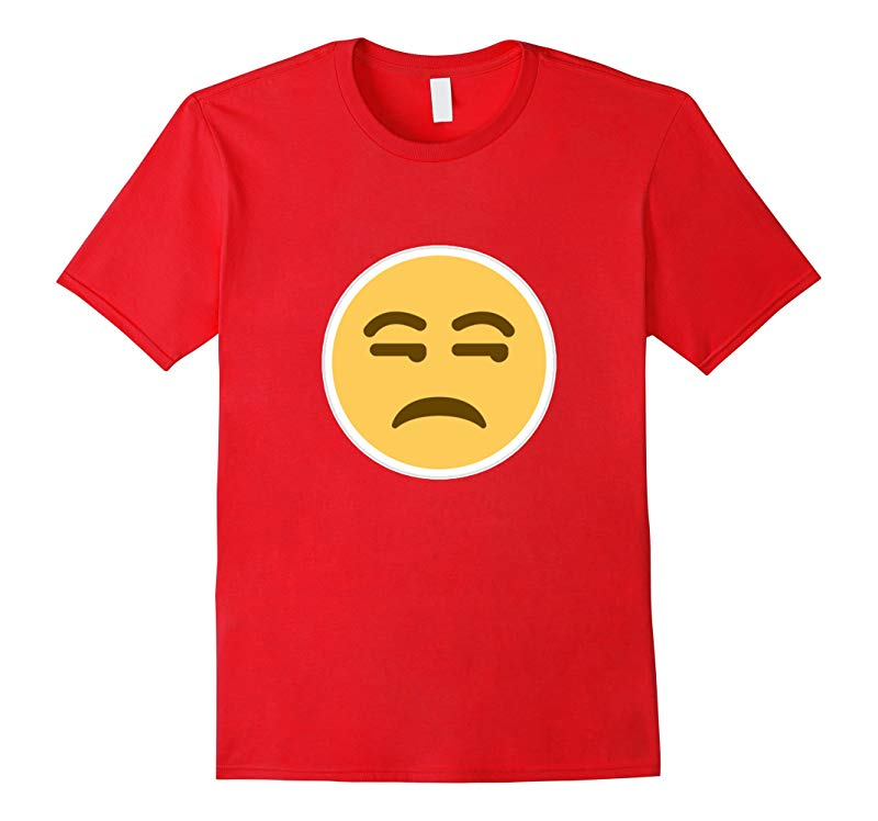 Bored Emoji T-Shirt - Unamused Eyes Rolling-RT