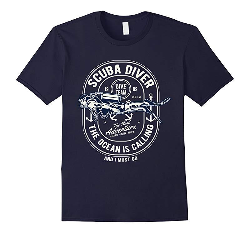 Scuba diving t shirt scuba diver team graphic tees-ANZ