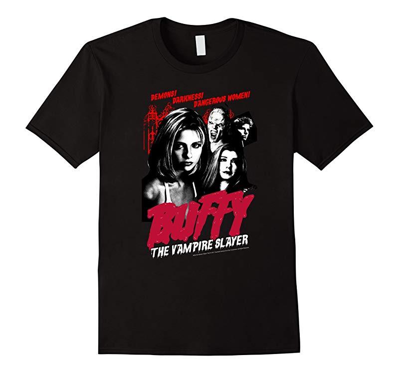Buffy the Vampire Slayer Buffy Vintage Horror Poster-RT