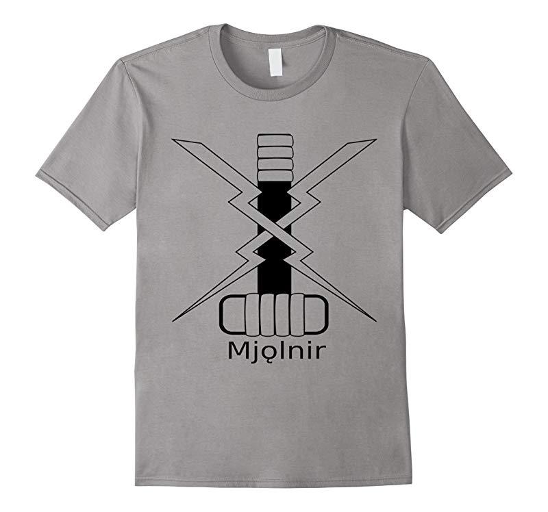 Thor Hammer T-Shirt Mjolnir Thors Hammer Norse Mythology-TD