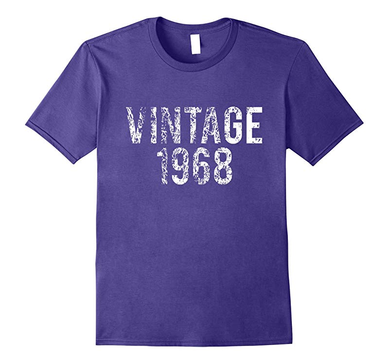 Vintage 1968 50th Birthday Shirt-RT