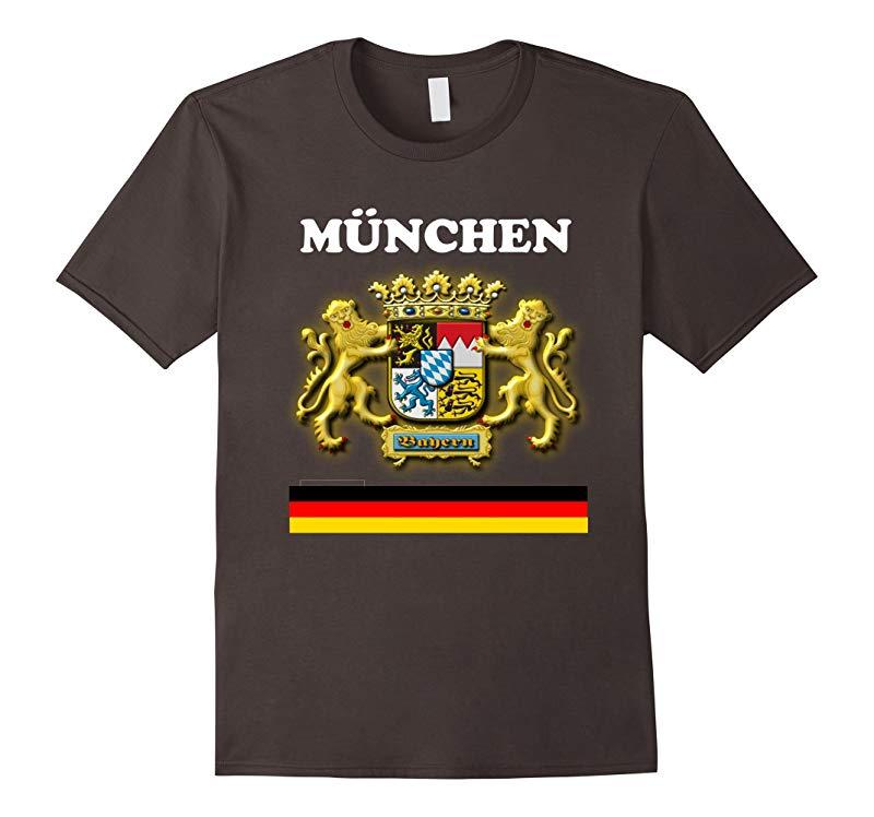 Munich Germany T Shirt Bavaria Souvenir T Shirts-Vaci