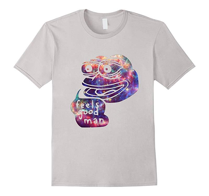 Rare Dank Meme Shirt  Cosmic Galaxy Feels good Pepe T-Shirt-RT