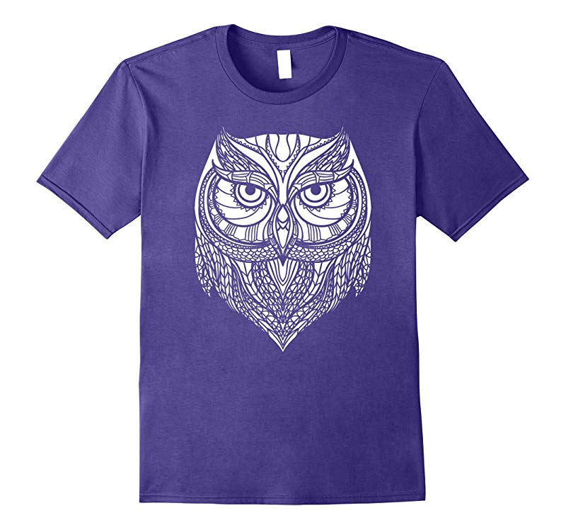 Cute Unique Trendy & Modern Aztec Owl T-Shirt & Gift | CUAI-RT