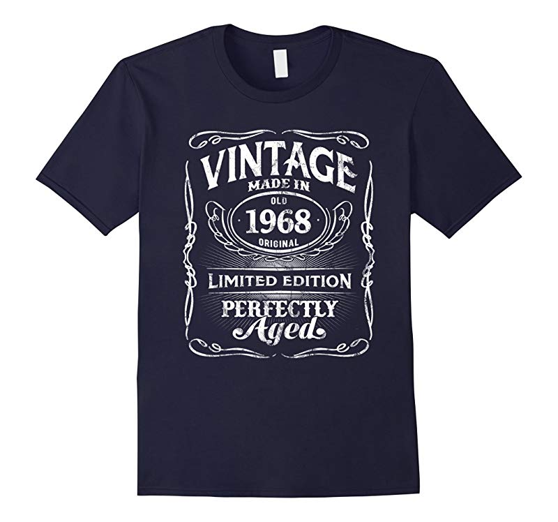 Vintage Premium Made In 1968 T-Shirt 50th Birthday Gift-RT