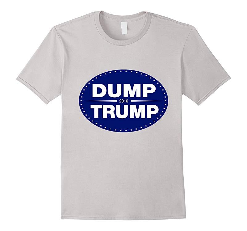 Dump Trump 2016 Anti Donald Funny Election T-Shirt-RT