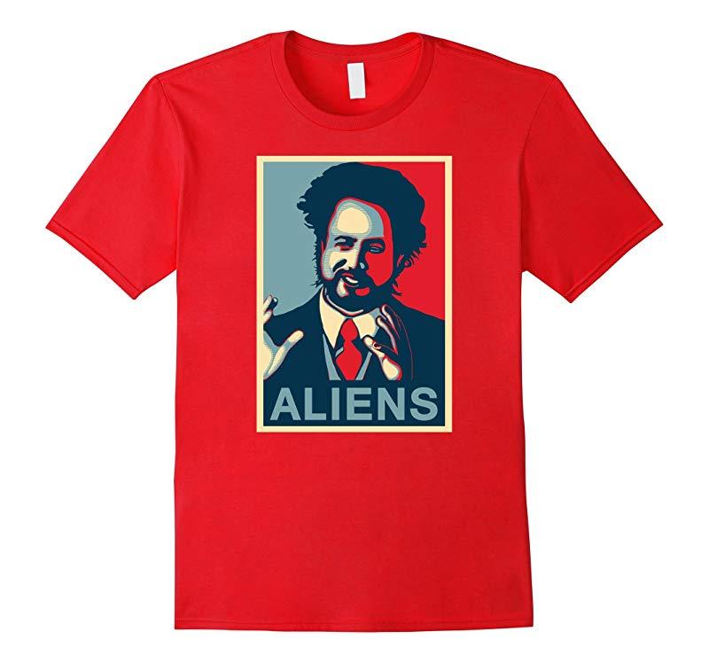 Aliens Giorgio A Tsoukalos T-Shirt Ancient Aliens-TD