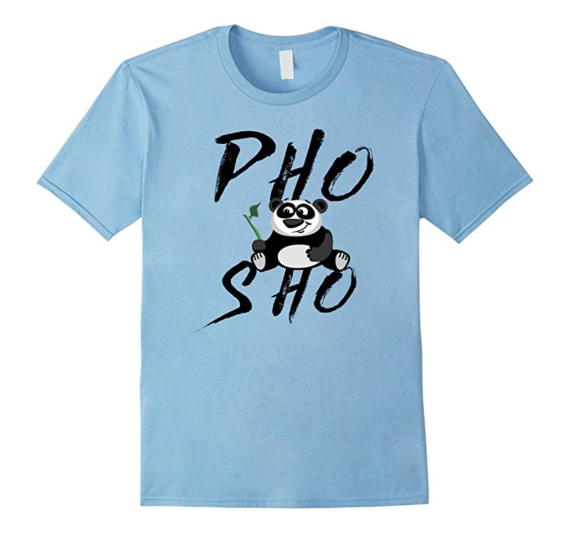 Pho Sho Panda Bamboo Adorable Animal Zoo Shirt-TH